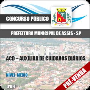 Apostila Pref Barretos SP 2018 Auxiliar de Cuidados Diários