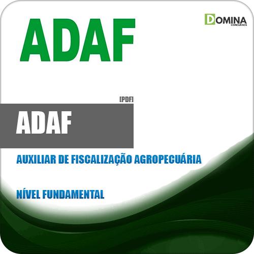 ADAF AM 2018 Auxiliar de Fiscalização Agropecuária