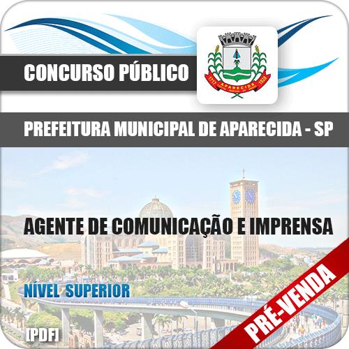 Apostila Pref Aparecida SP 2018 Agente Comunicação Imprensa