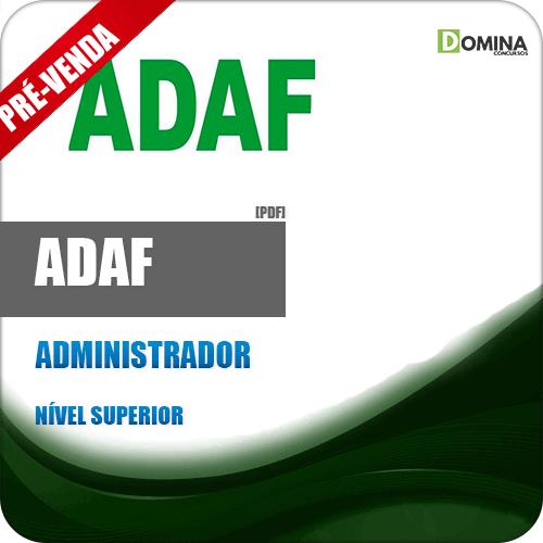 Apostila ADAF AM 2018 Administrador