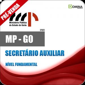 Apostila MP GO 2018 Secretário Auxiliar