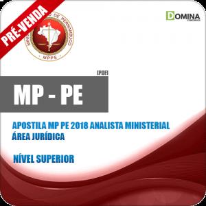 Apostila MP PE 2018 Analista Ministerial Área Jurídica