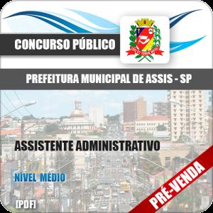 Apostila Pref Assis SP 2018 Assistente Administrativo