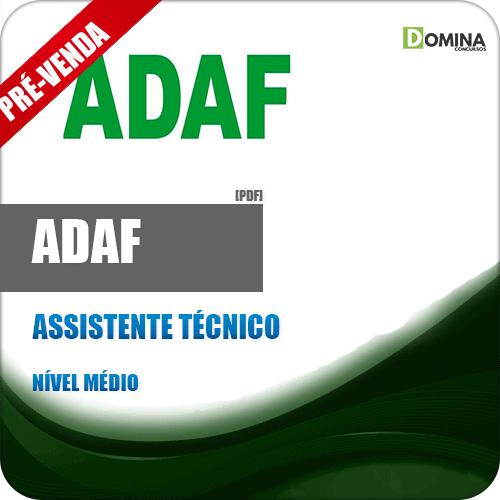 Apostila ADAF AM 2018 Assistente Técnico