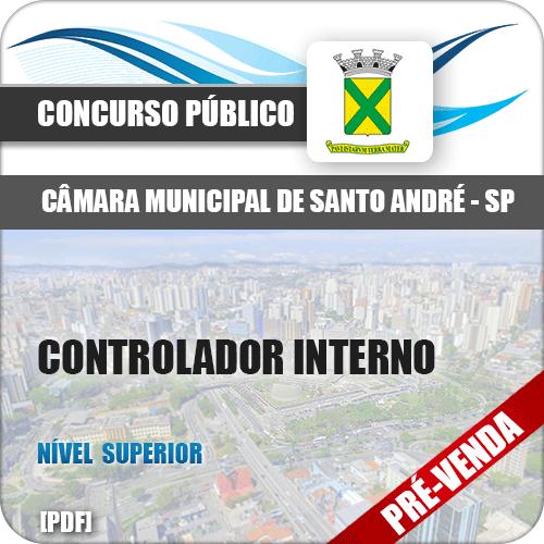 Apostila Câmara Santo André SP 2018 Controlador Interno