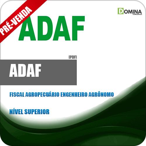 Apostila ADAF AM 2018 Fiscal Agropecuário Engenheiro Agrônomo