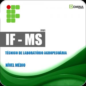 IFMS 2018 Técnico de Laboratório Agropecuária