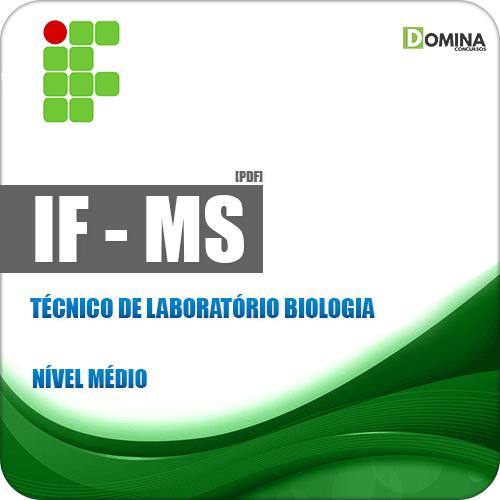IFMS 2018 Técnico de Laboratório Biologia