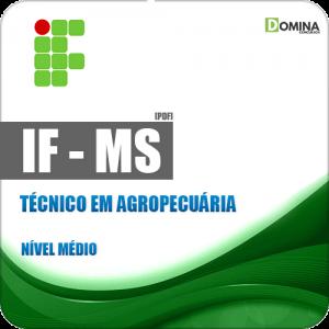 IFMS 2018 Técnico em Agropecuária