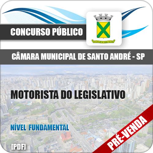 Apostila Câmara Santo André SP 2018 Motorista do Legislativo