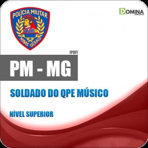 PM MG 2018 Soldado do QPE Músico