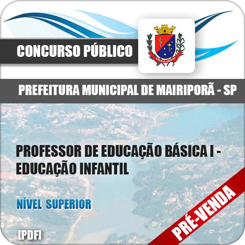 Apostila Pref Mairiporã SP 2018 PEB II Educação Física
