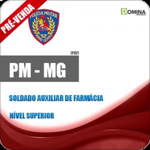 Apostila PM MG 2018 Soldado Auxiliar de Farmácia
