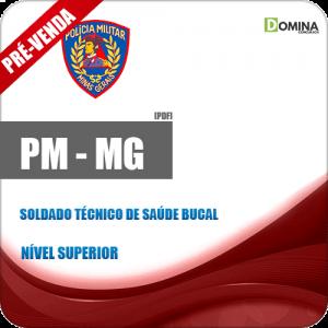 Apostila PM MG 2018 Soldado Técnico de Saúde Bucal