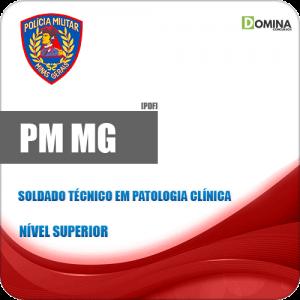 PM MG 2018 Soldado Técnico em Patologia Clínica