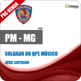 Apostila PM MG 2018 Soldado do QPE Músico