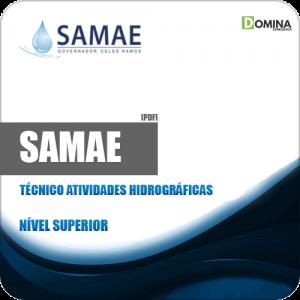 Apostila SAMAE GCR 2018 Técnico Atividades Hidrográficas