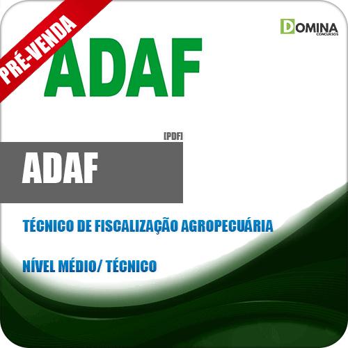 Apostila ADAF AM 2018 Técnico de Fiscalização Agropecuária