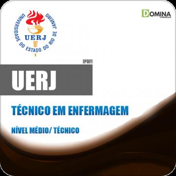 UERJ 2018 Técnico em Enfermagem