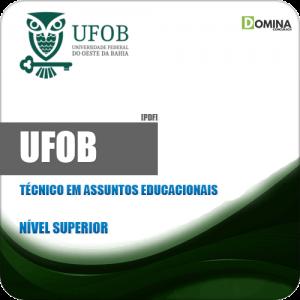 UFOB 2018 Técnico em Assuntos Educacionais