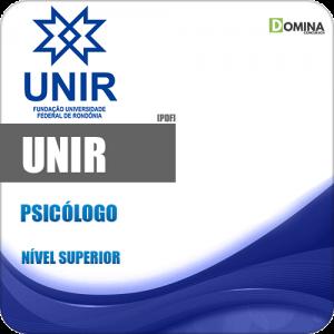 UNIR 2018 Psicólogo
