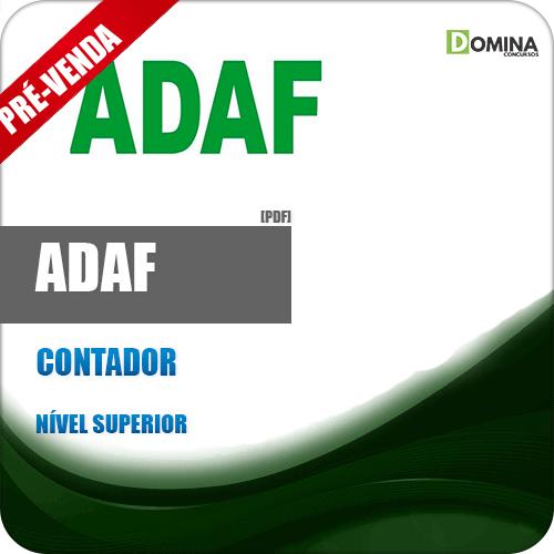 Apostila ADAF AM 2018 Contador