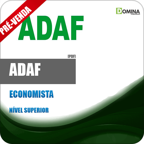 Apostila ADAF AM 2018 Economista