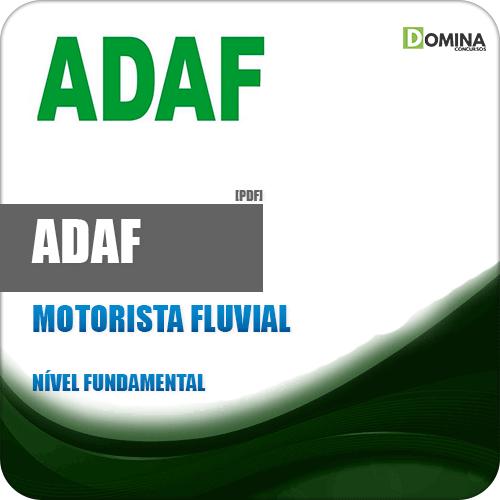 Apostila ADAF AM 2018 Motorista Fluvial