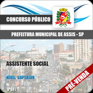 Apostila Pref Assis SP 2018 Assistente Social