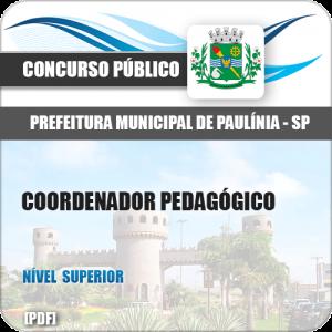 Apostila Pref Paulínia SP 2018 Coordenador Pedagógico
