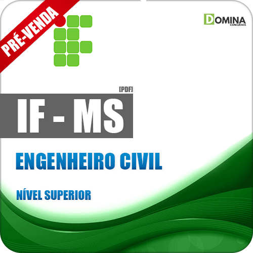 Apostila IFMS 2018 Engenheiro Civil