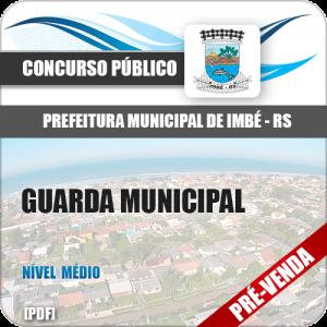 Apostila Pref Imbé RS 2018 Guarda Municipal