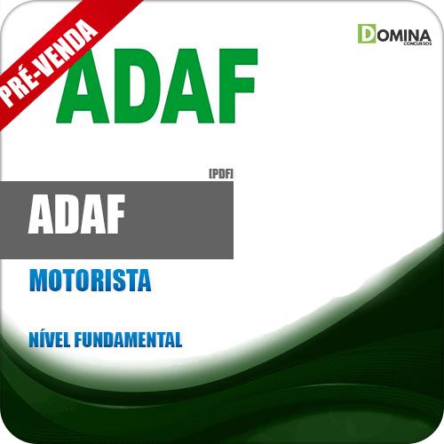 Apostila ADAF AM 2018 Motorista
