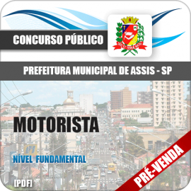 Apostila Pref Assis SP 2018 Motorista