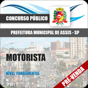 Apostila Pref Assis SP 2018 Motorista