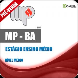 Apostila MP BA 2018 Estagiário Ensino Médio