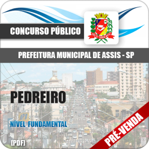 Apostila Pref Assis SP 2018 Pedreiro
