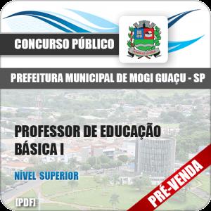 Apostila Pref Mogi Guaçu SP 2018 Professor de Educação Básica I