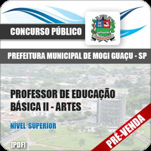 Apostila Pref Mogi Guaçu SP 2018 Prof Educação Básica II Artes
