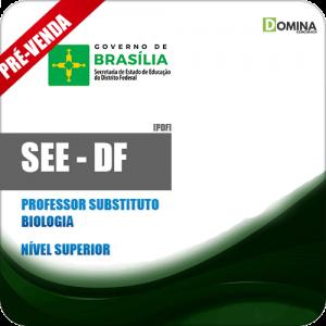Apostila SEE DF 2018 Professor Substituto Biologia