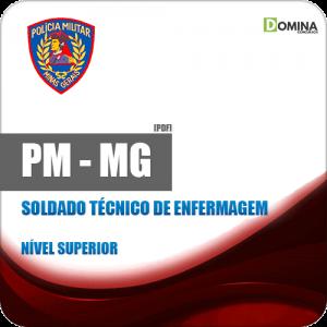 Apostila PM MG 2018 Soldado Técnico de Enfermagem