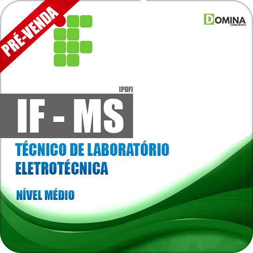 Apostila IFMS 2018 Técnico de Laboratório Eletrotécnica