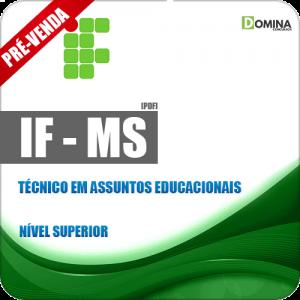 Apostila IFMS 2018 Técnico em Assuntos Educacionais