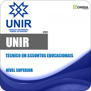 Apostila UNIR 2018 Técnico em Assuntos Educacionais