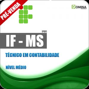 Apostila IFMS 2018 Técnico em Contabilidade