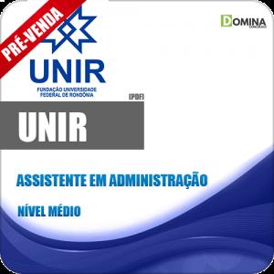 Apostila UNIR 2018 Assistente em Administração