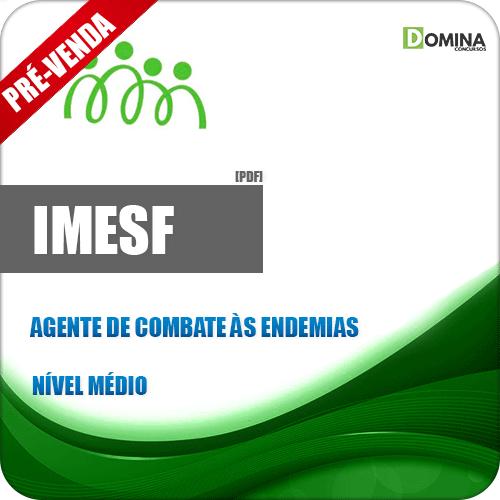 Apostila IMESF Pref Porto Alegre 2018 Agente de Combate às Endemias