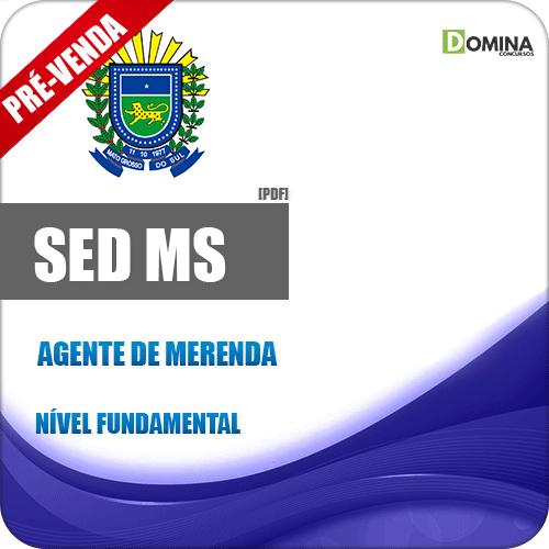 Apostila SED MS 2018 Agente de Merenda