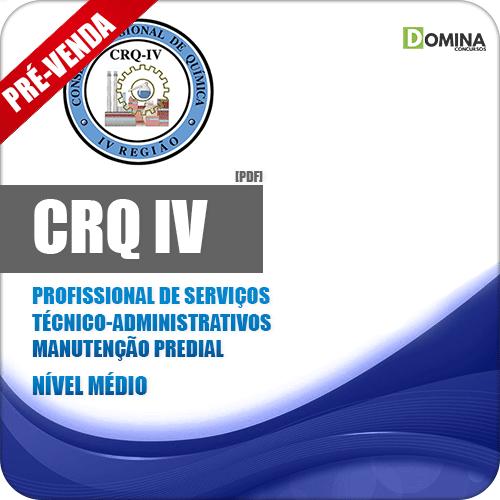 Apostila CRQ IV 2018 PSA Manutenção Predial