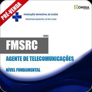 Apostila FMSRC SP 2018 Agente de Telecomunicações